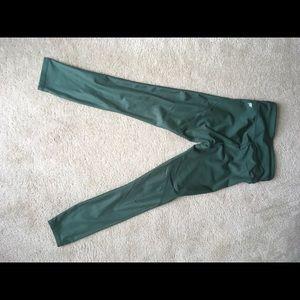 Fabletics Green Yoga Pants xSmall